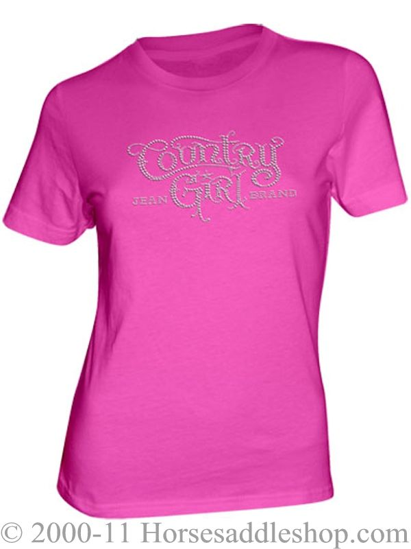 Country Girl Rhinestone Top ZDS