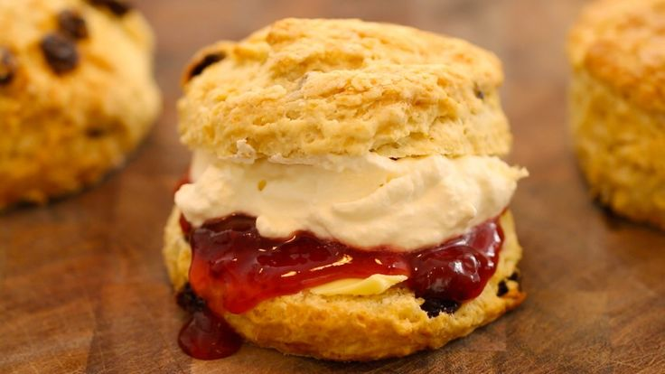 Traditional Irish Scones. Reviews were that these were good! Used dried blueberries and lemon zest. -e