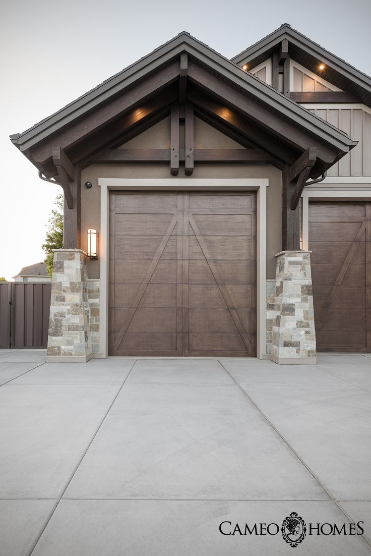 228 best craftsman door styles accessories images on pinterest clopay garage doors on a home by cameo homes inc in draper utah