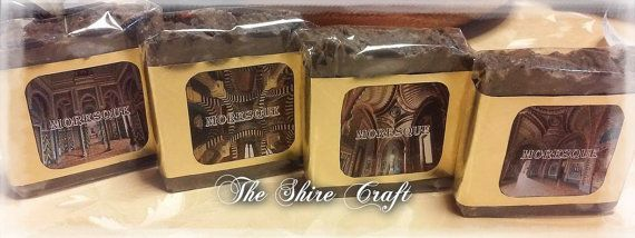 Moresque Soap  Natural Handcrafted Soap by TheShireCraft on Etsy