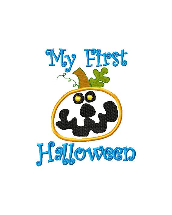 first halloween embroidery design halloween by SoSassyStitches