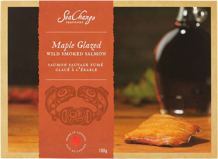 Maple Glazed Smoked Salmon - SeaChange Seafoods - Unique Canadian Gifts