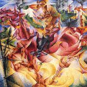 Elasticity, 1916  by Umberto Boccioni