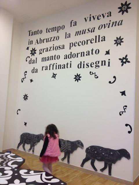 All'Aurum c'è una stanza speciale, quella della musa ovina che aspetta i bambini | L'Abruzzo è servito | Quotidiano di ricette e notizie d'AbruzzoL'Abruzzo è servito | Quotidiano di ricette e notizie d'Abruzzo