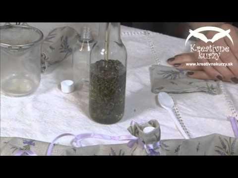 Prohlédnout video levandulový olej