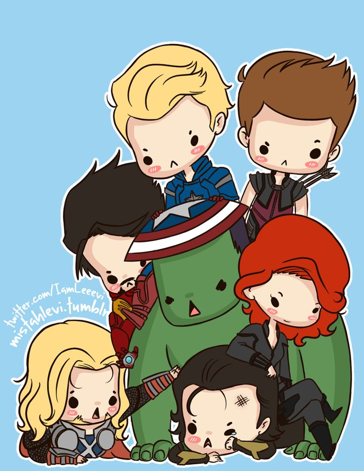 cute avengers avengers fan art pinterest