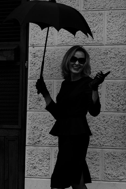 Jessica Lange.  Love, love, love this woman.  Have such a newfound appreciation for her since starting the American Horror Stories series.