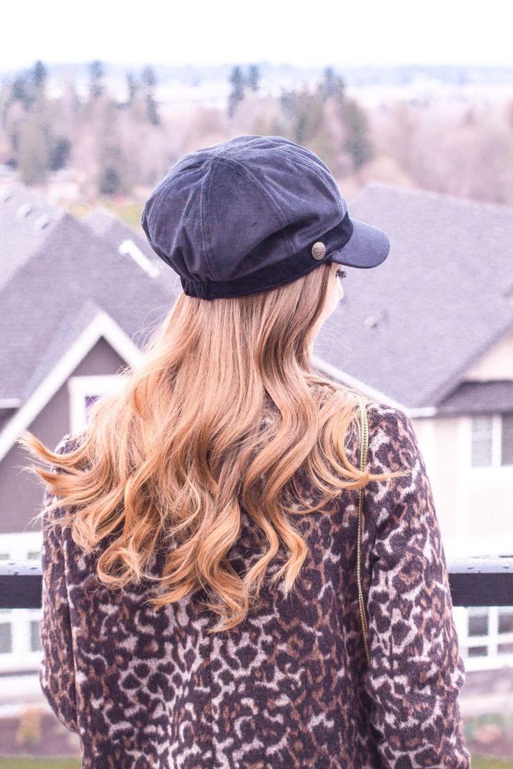 Leopard Coat, Leopard Jacket, Leopard Cardicoat, Lieutenant Hat, Baker Boy Hat, Women's Style, Women's Fashion, Fall Style, Fall Fashion, Trending Now, Leopard Print