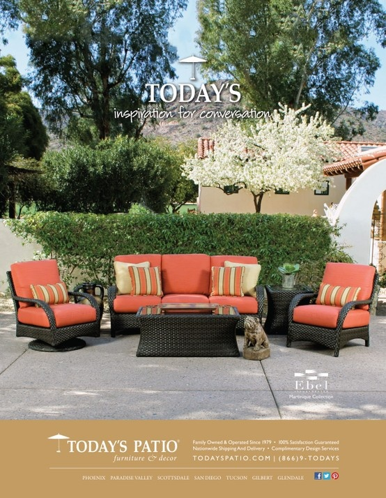 Ebel Martinique Collection   Todayu0027s Patio Magazine Ad