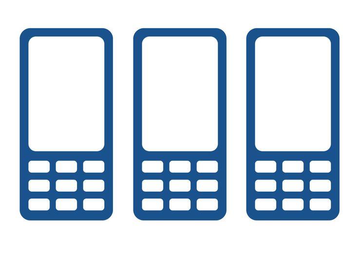 Мобильный телефон клипарт