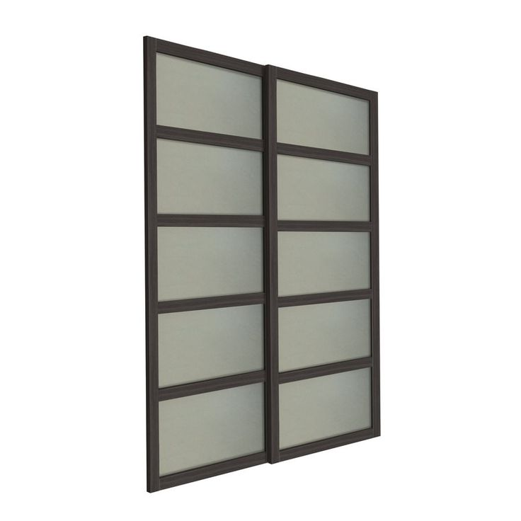 Bali 2-Panel Frosted Glass Sliding Closet Door (Common: 60-in x 80-in; Actual: 31-in x 78.5-in) | Lowe's Canada
