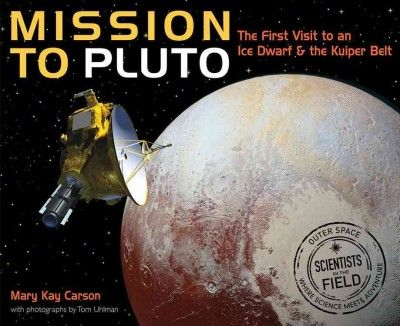 Profiles the New Horizons mission, the first ever spacecraft mission to Pluto, covering the science behind its creation and launch, detailing Pluto's discovery, and examining the findings of the historic mission.