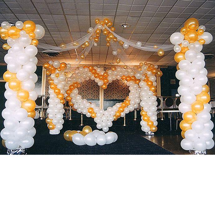 Balloon Decoration Ideas | Dance Floor Heart | Balloon Decorations by BalloonsTM