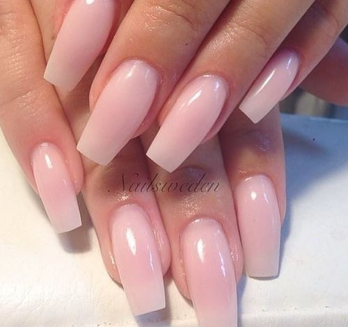 The 25 best tapered square nails ideas on pinterest nail shapes disenos de unas naturales beauty and fashion ideas fashion trends latest fashion ideas and style tips prinsesfo Gallery