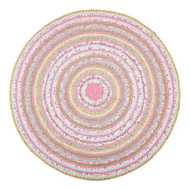 Kids Circular Multicoloured Rug | ZARA HOME United Kingdom