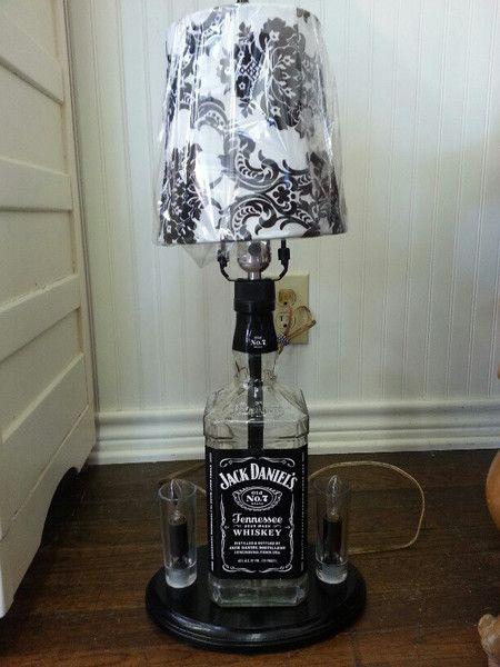 25 unique jack daniels lamp ideas on pinterest jack daniels bottle bottle lamps and man room. Black Bedroom Furniture Sets. Home Design Ideas