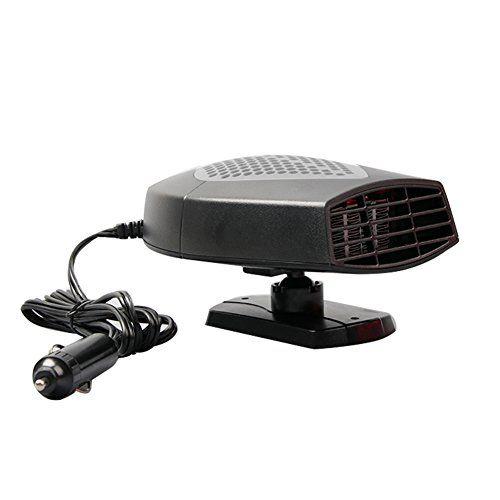 Gentman Car Vehicle Heater Portable Cooling Fan Auto Heating