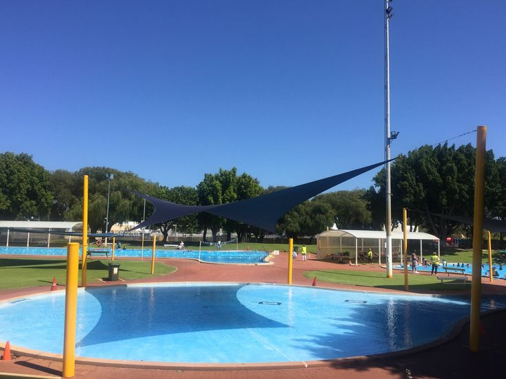 Pool shade sails Perth.  www.oneshade.com.au