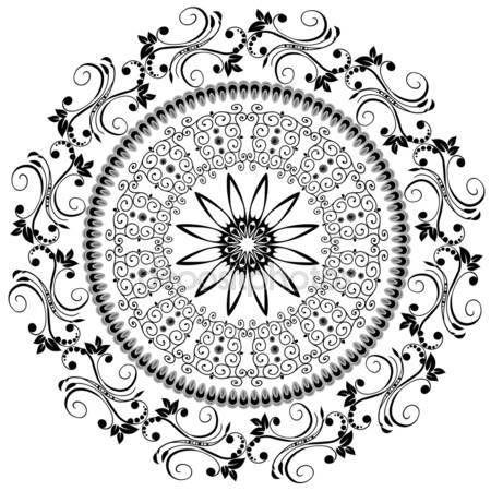 Скачать - Абстрактный узор восточные — стоковая иллюстрация #2970610