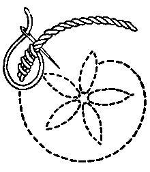FLAT STITCHES: vocabulary 2: Whipped Stem Stitch by Mrs. A. Christie London 1920