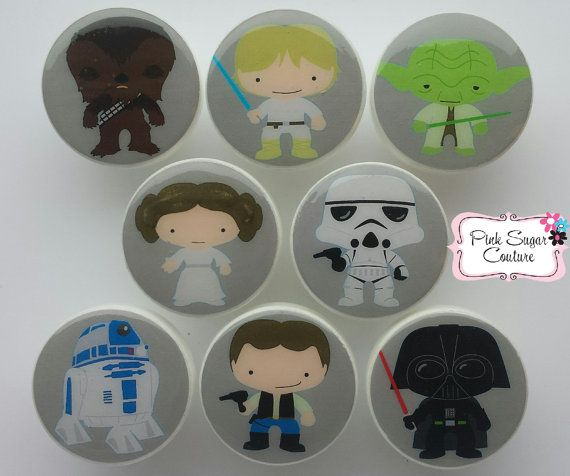 Hey, I found this really awesome Etsy listing at https://www.etsy.com/listing/225863718/star-wars-knobs-gray-version-3-handmade