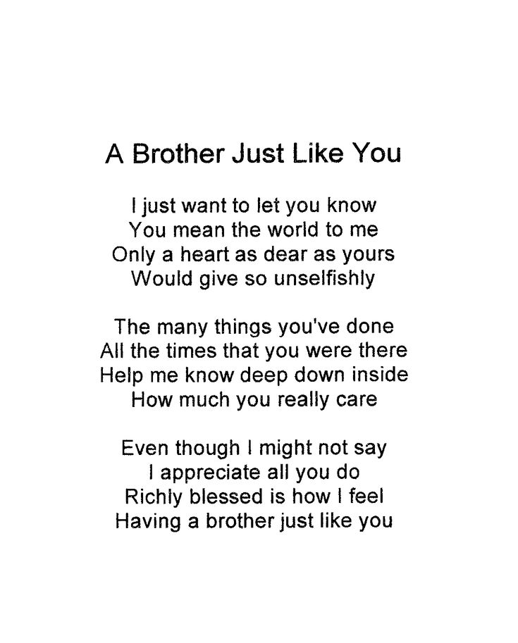 Brother Love Quotes 105 Best ꧁brothers꧁ Images On Pinterest  I Love My Brother Big