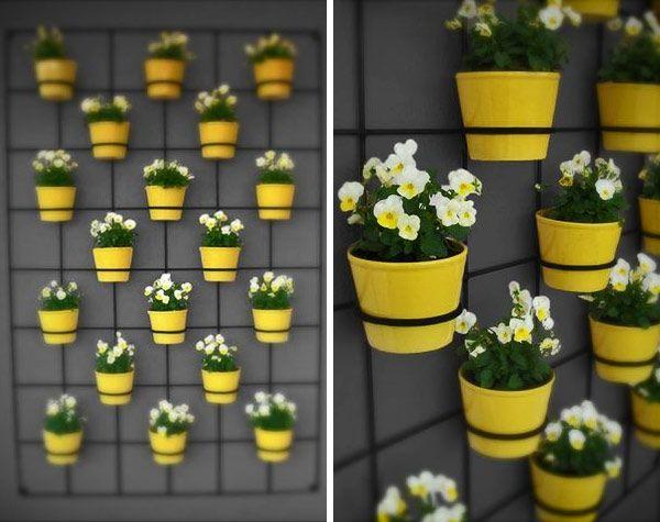 insitu_wallplanter_04.jpg: Gardens Ideas, Small Balconies, Jardine, Green Wall, Vertical Gardens, Flower Pots, Planters Ideas, Wall Gardens, Wall Planters