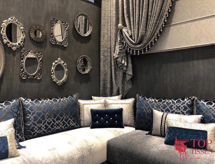 Top Tissus Sur Instagram Comment Ne Pas Craquer Face A La Douceur Du Velours La Noblesse Moroccan Living Room Moroccan Home Decor Living Room Decor Curtains