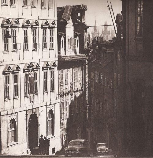 Prague, Nerudova st by V.Jiru, 60's