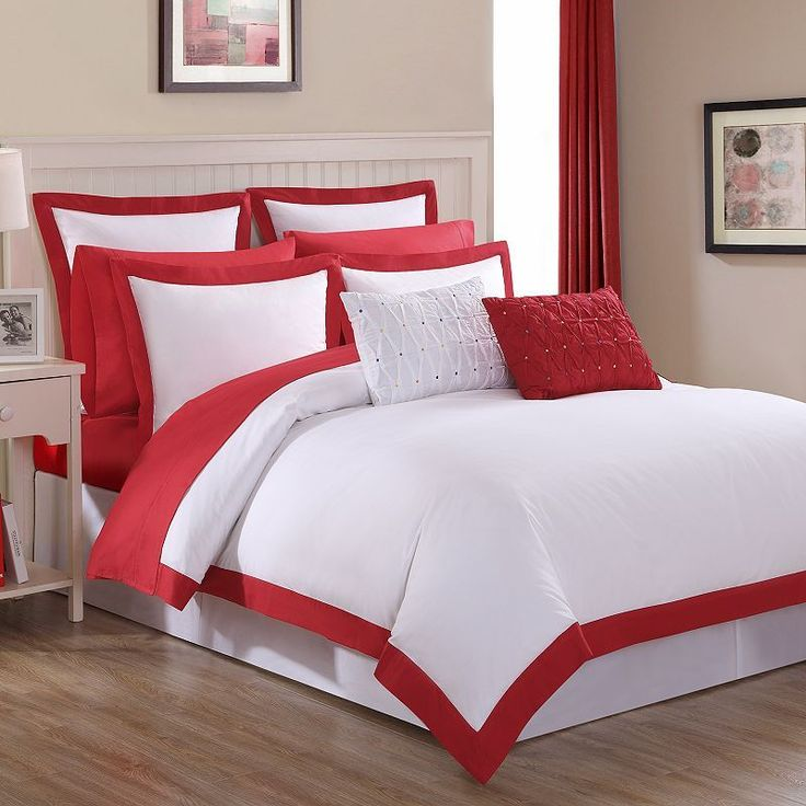 Fiesta Classic Duvet Cover Set, Red