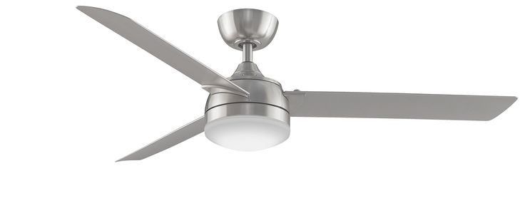 "With its minimalist lines and stylish curves, the 56"" Spinstar ceiling fan is an attractive addition to any space. As shown, a light fitting is also available to be fitted to the Spinstar."