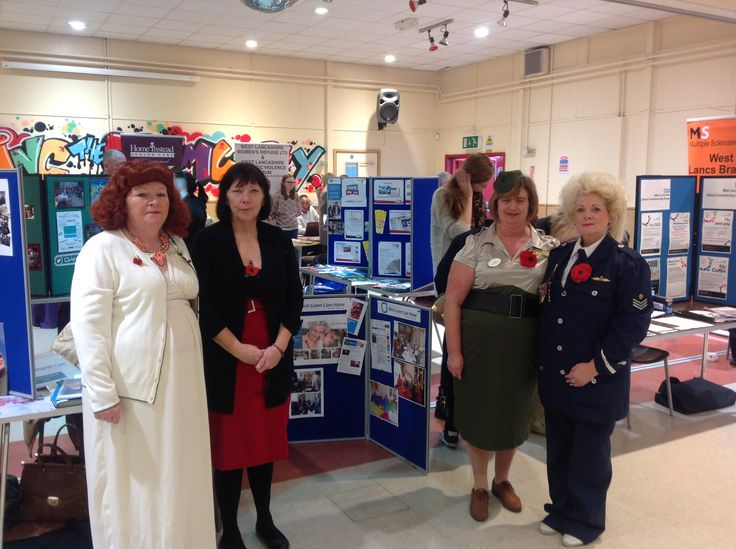 Staff showcase Birch Green Care Home at TanHouse community health & wellbeing day - Birch Green Care Home Skelmersdale