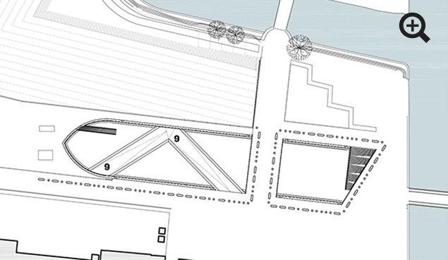 BIG maritime museum floor plan