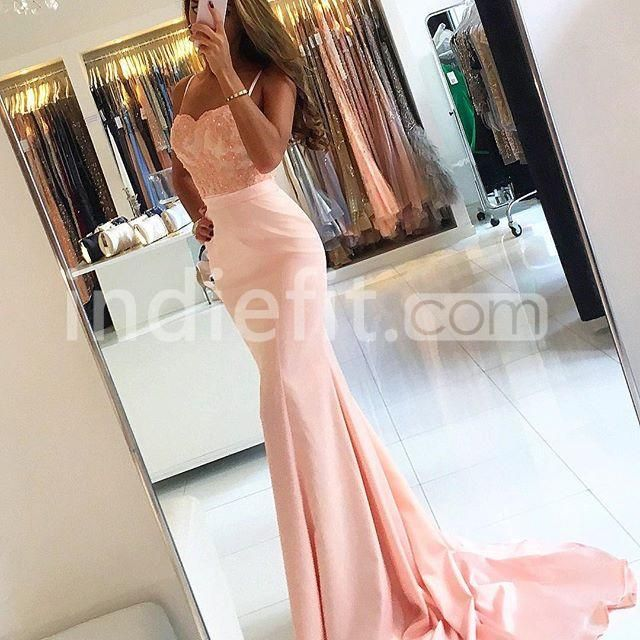 $146.99 Prom Dresses 2017 Spaghetti Straps Mermaid Stretch Satinproducts_id:(1000075476 or 1000075245 or 1000075170 or 1000074533 or 1000073444)