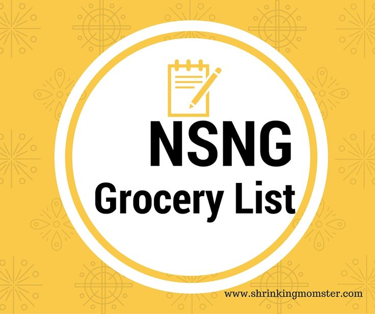 List Of Nsng Foods
