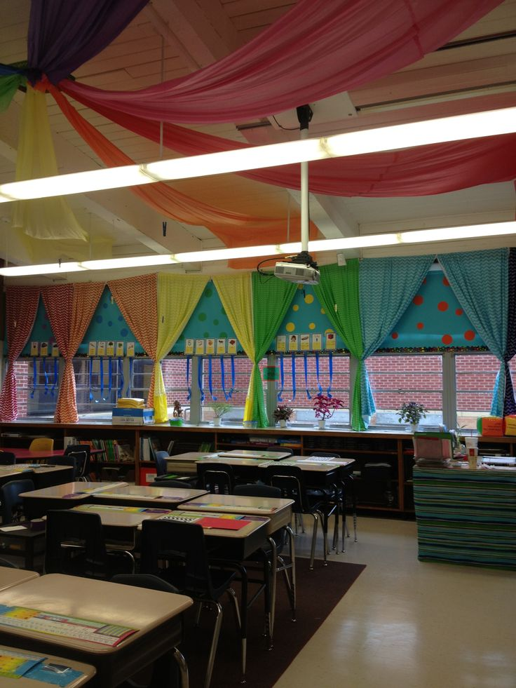 Classroom Decoration Colorful ~ Best images about bright colored classrooms decor ☺️