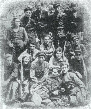 Partisans from Kovno Ghetto in Rudniki Forest of Lithuania