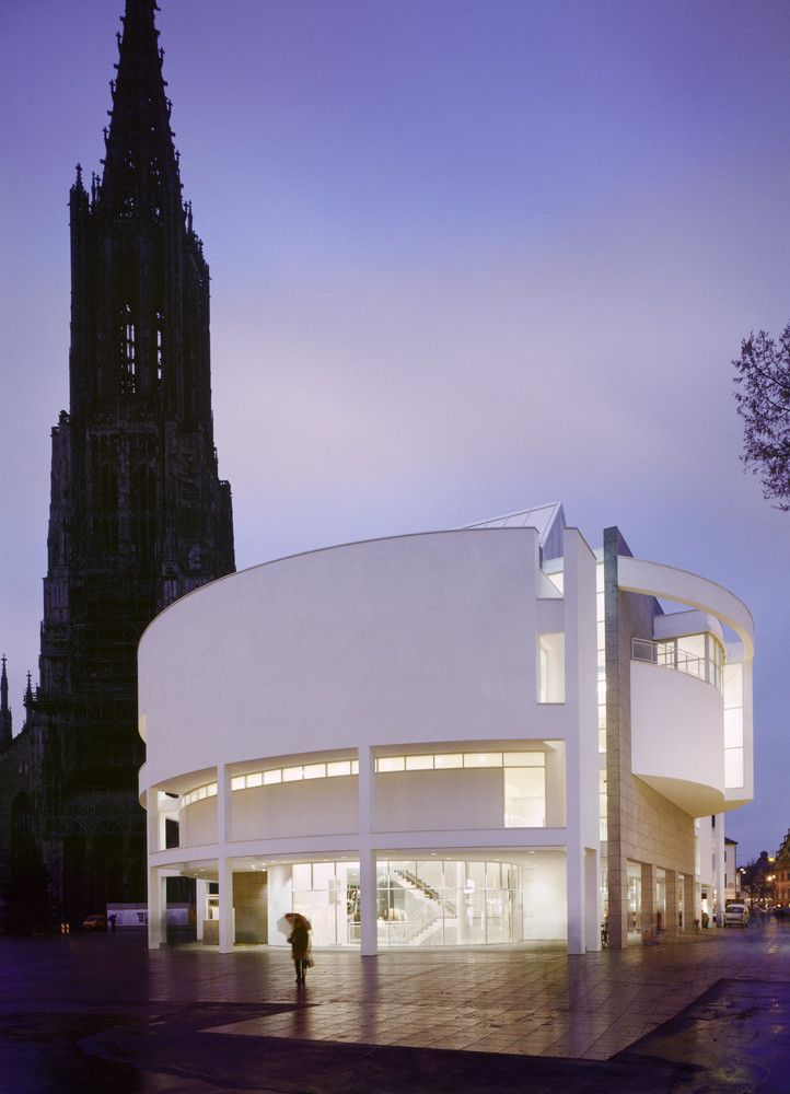 Exhibition: Picture, Tower, Building – Richard Meier and the Ulm Minster,Ulm Stadthaus Exhibition & Assembly Building - Copyright Scott Frances