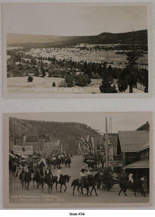 Williams Lake B.C. - 1920's