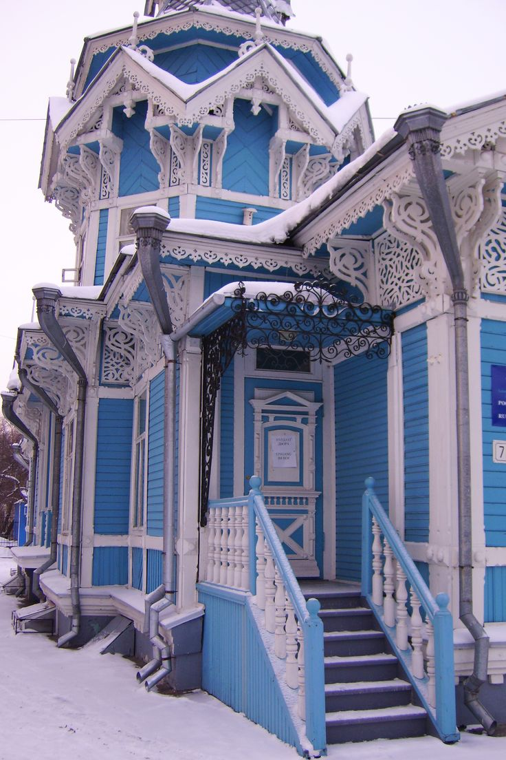 Russische romantik haus mit stil h user pinterest for Russisches haus