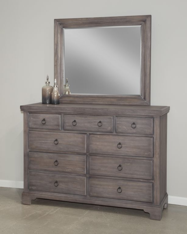 The Vaughan Bassett Whiskey Barrell Dresser Is Of A Rustic Chic Style With A Re Purposed Wood Finished Furniture Companies