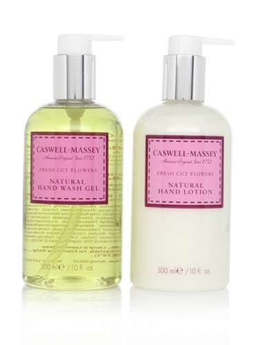 63% OFF Caswell-Massey Fresh Cut Flowers Lotion and Gel Duo