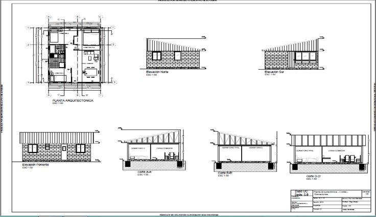 13 mejores im genes sobre arquitectura planos vivienda for Planos de arquitectura pdf