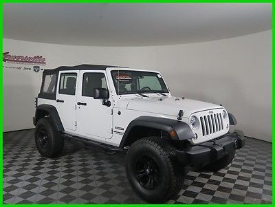 eBay: 2014 Jeep Wrangler Sport Lifted 4x4 V6 SUV Soft Top Roof Tow Package 22911 Miles 2014 Jeep Wrangler Unlimited Sport… #jeep #jeeplife