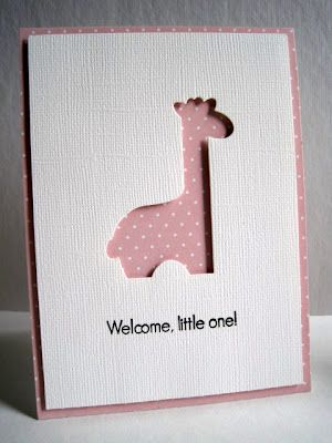 I'm in Haven....cute baby card
