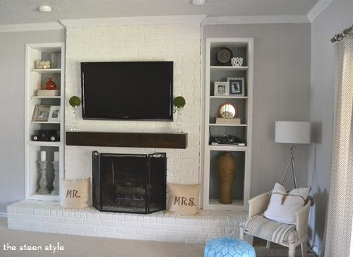 Paint Colors Living Room Wall Color Fireplace