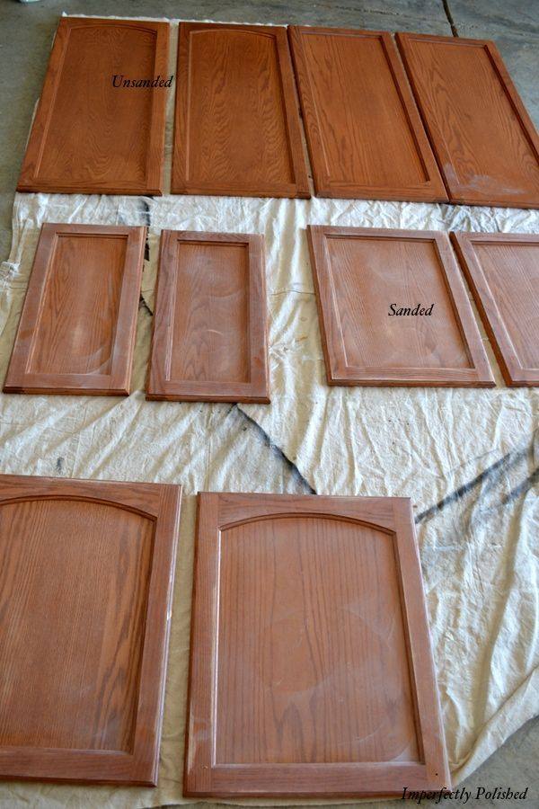 Sand You Cabinets Before Repaint Them Renovating Creative Ideas In 2018 Painting Kitchen Paint And