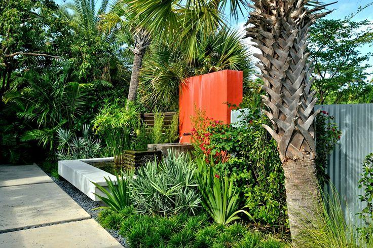 Key West Backyard Ideas : Garden sculptures, Water features and Landscape design on Pinterest