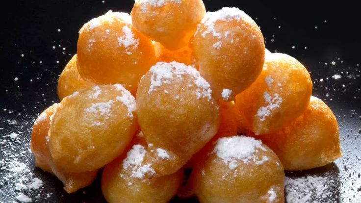 Receta de Buñuelos caseros rellenos de crema de limón