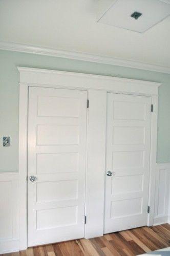 like the door casing